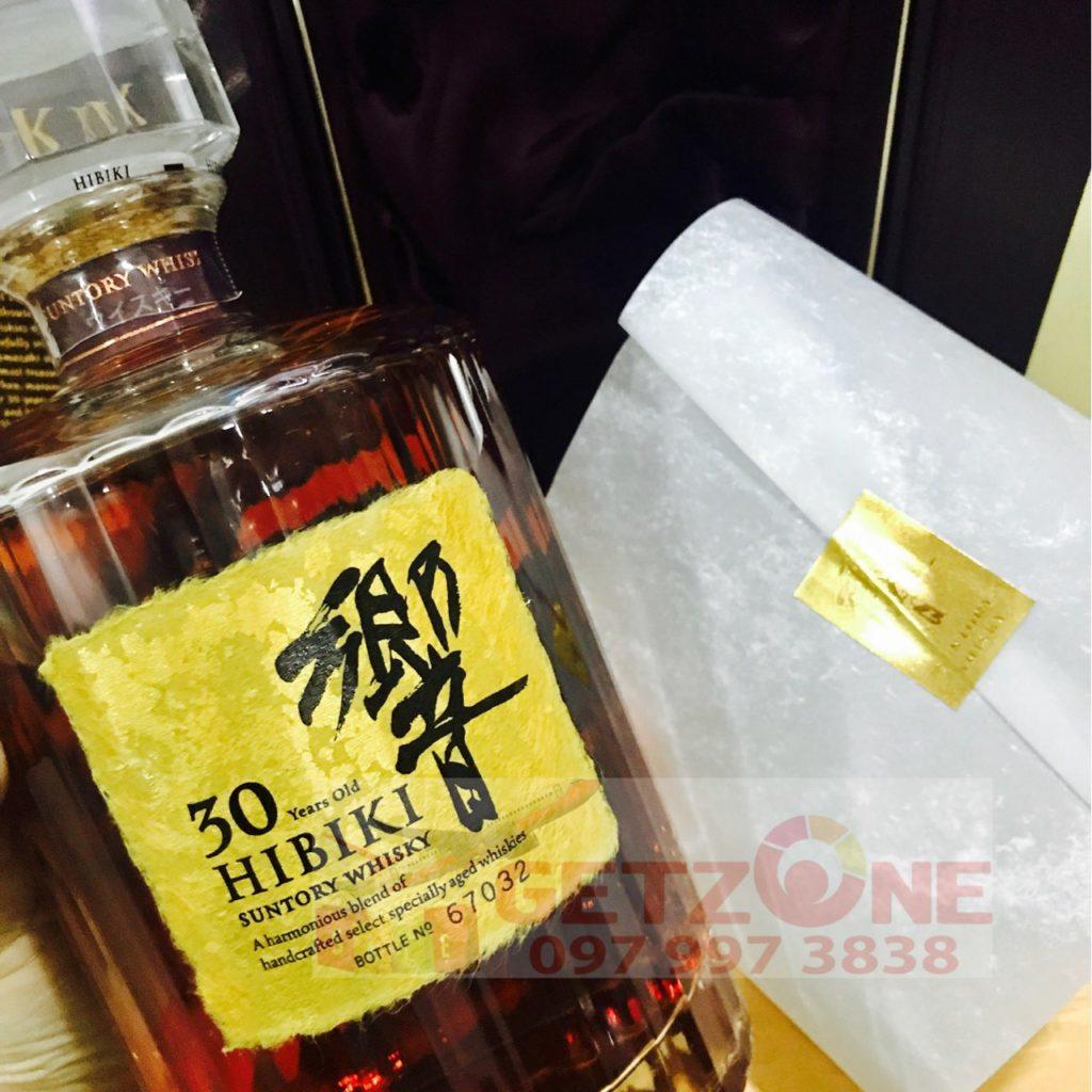 Rượu Suntory Hibiki 30 Years Old chai thứ 67032