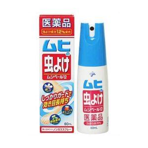 Xịt chống muỗi Muhi Nhật Bản