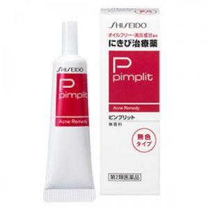 Thuốc trị mụn Shiseido Pimplit C (Clear) chất kem trong suốt