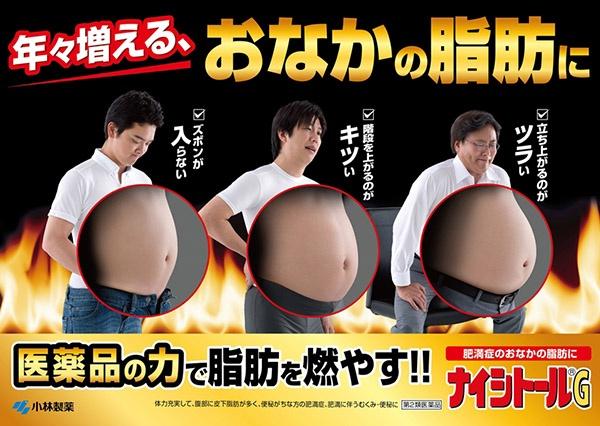 Thuốc giảm mỡ bụng Naishitoru G Kobayashi