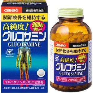 Thuốc khớp Glucosamin 1500mg Orihiro mẫu mới