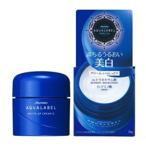 Shiseido Aqualabel White Up Cream dưỡng trắng da vượt trội