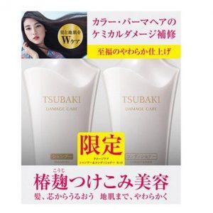 Dầu gội và dầu xả Shiseido Tsubaki Damage Care