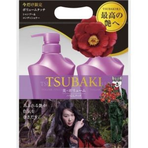 Shiseido Tsubaki Volume Touch gồm dầu gội & dầu xả dành làm phồng tóc