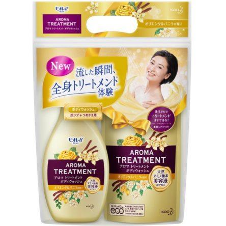 Sữa tắm Kao Aroma Treatment Hoa Ly & Vỏ Quế