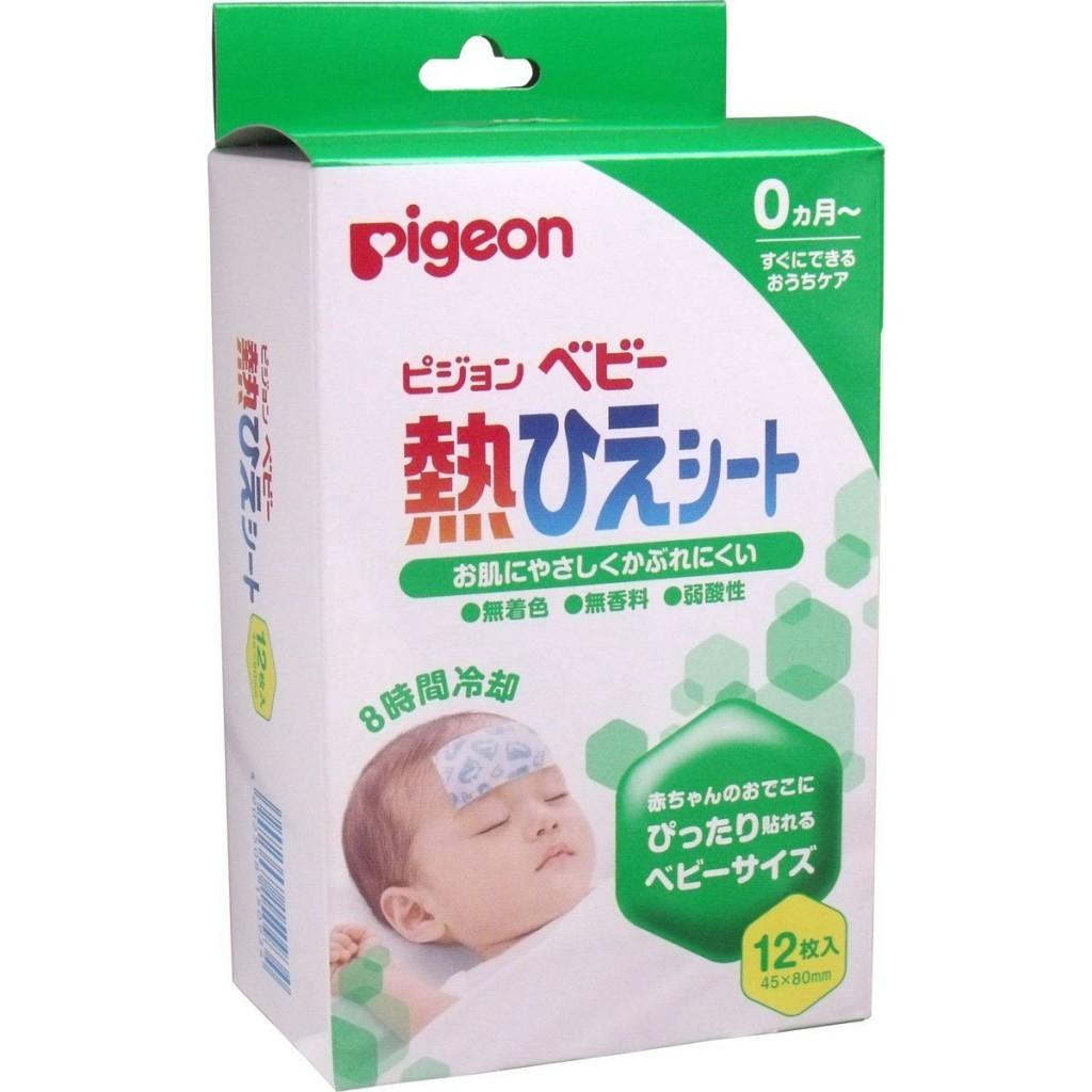 Miếng dán hạ sốt Pigeon Miếng dán hạ sốt Pigeon Miếng dán hạ sốt Pigeon mieng dan duoi muoi wakado hang xach tay getzone net3