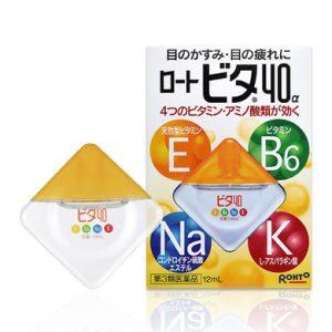 Thuốc nhỏ mắt Rohto Vitamin 40 hàng Nhật nội địa xách tay