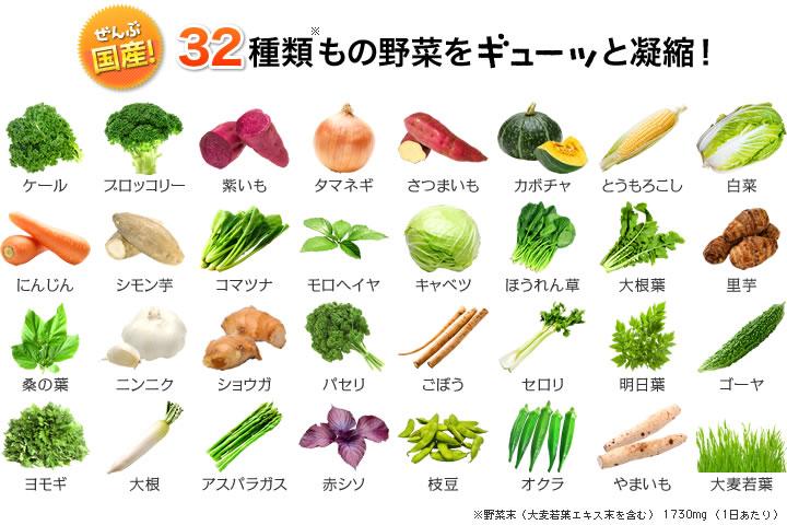 viên uống 32 loại rau củ Premium DHC
