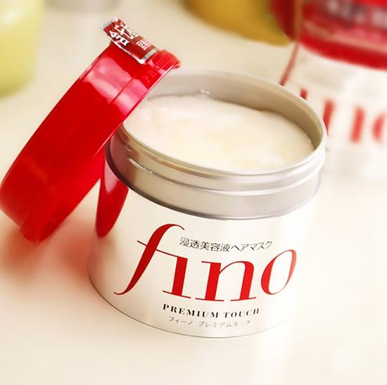 kem ủ tóc Fino shiseido