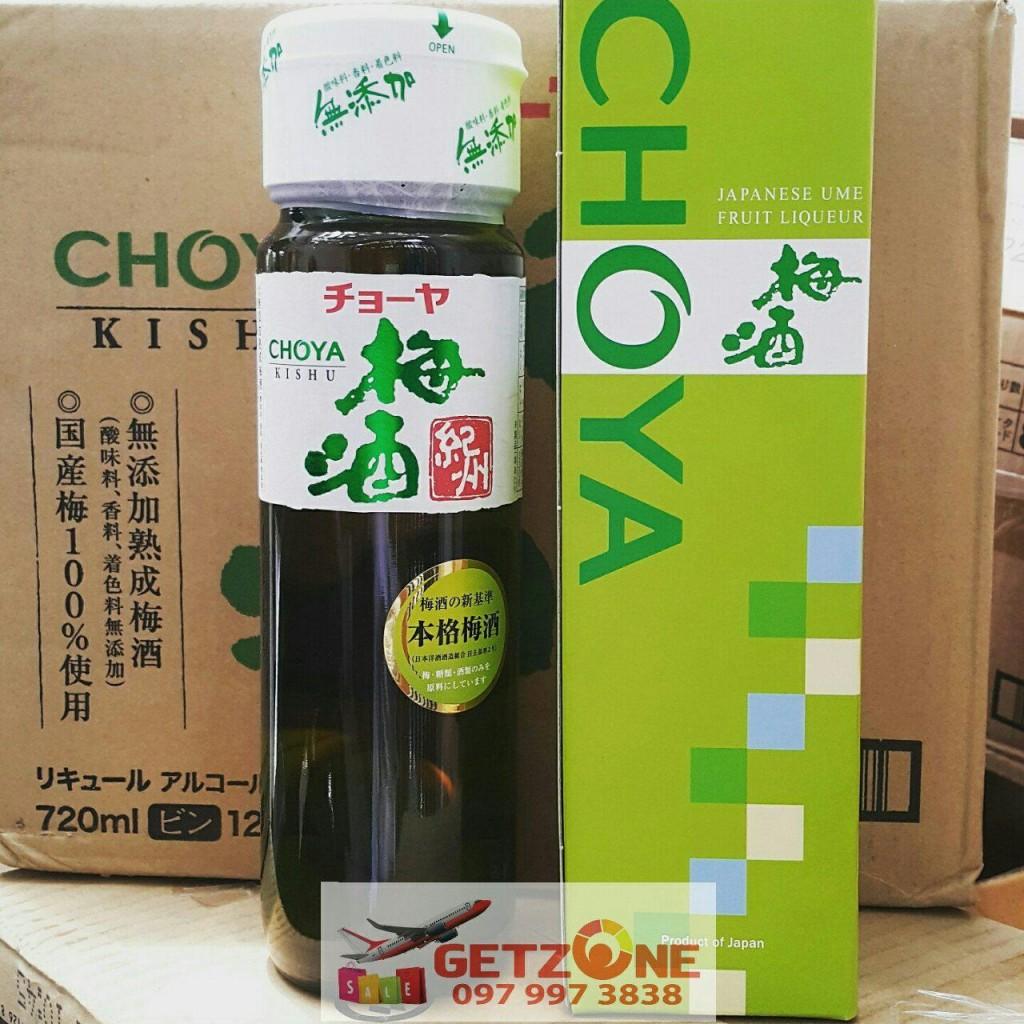 Rượu mơ Choya Kishu