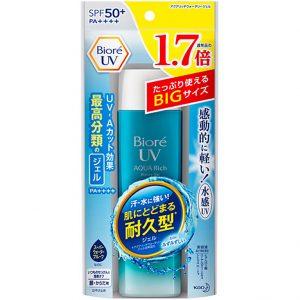 Kem chống nắng Biore UV Aqua Rich Watery Gel 155ml hàng Nhật xách tay uy tích HCM