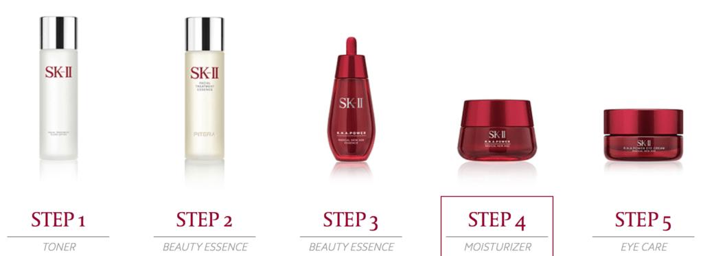 Những bước cần thiết để dưỡng da với kem chống lão hoá SK-II