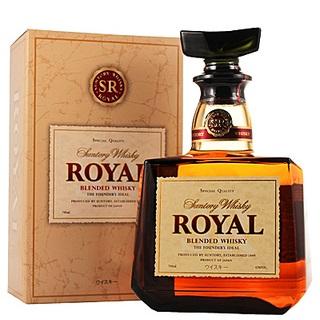 Suntory Royal Whisky phiên bản thường là dòng Blend được khách lựa chọn uống nhiều nhất