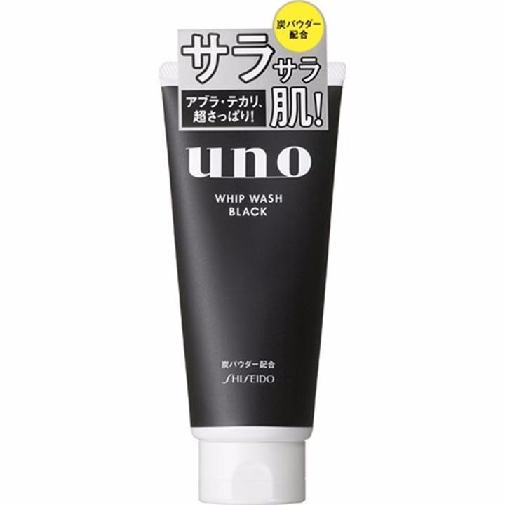 Sữa rửa mặt Shiseido Uno Whip Wash Black