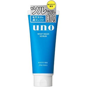Sữa rửa mặt Shiseido Uno Whip Wash Scrub