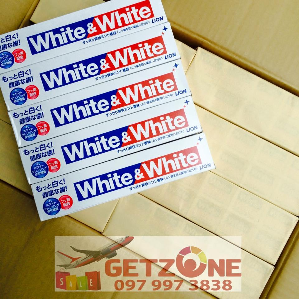 kem đánh răng white white