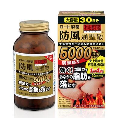 Thuốc giảm mỡ bụng Rohto 5000