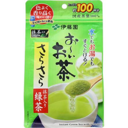 Bột trà xanh Itoen matcha blended