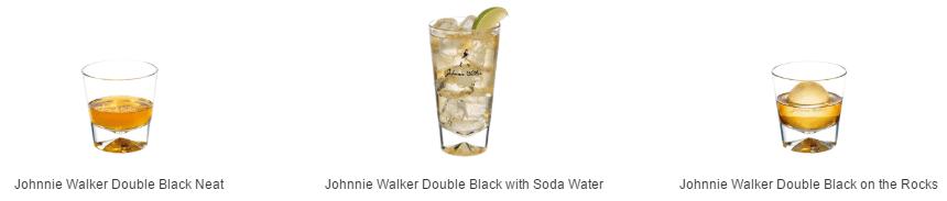 Cách thưởng thức rượu Johnnie Walker Double Black 1 lít xách tay từ Úc
