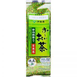 trà gạo lứt Itoen