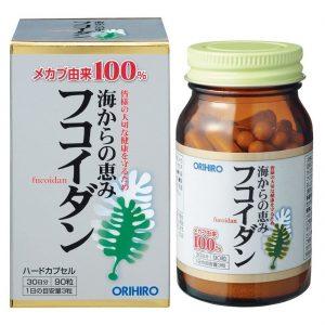 Fucoidan Orihiro 90 viên hàng Nhật xách tay