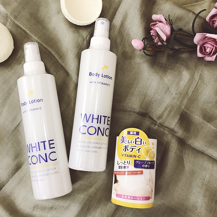 Xịt dưỡng trắng White Conc Body Lotion
