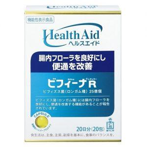 Men vi sinh Health Aid Bifina R 20 gói hàng Nhật nội địa