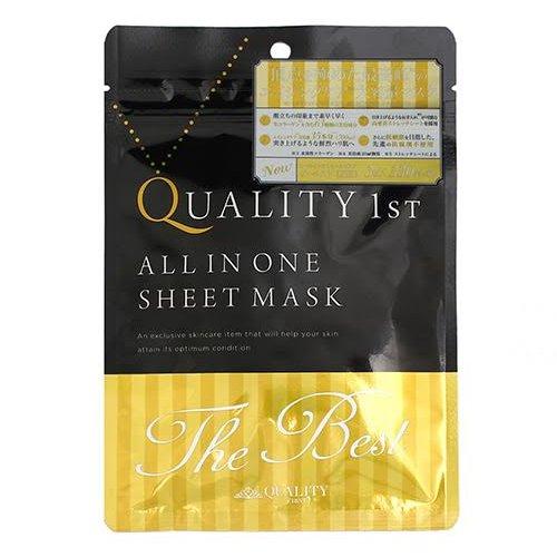 Mặt nạ Quality 1st The best phục hồi làn da xuống cấp trầm trọng hàng Nhật đảm bảo