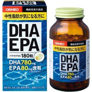 Dầu cá Omega 3 Orihiro DHA EPA hàng Nhật xách tay giá rẻ HCM