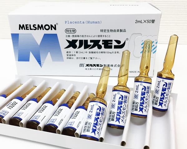Tế bào gốc Melsmon Placenta Human nhau thai người hàng xách tay Nhật
