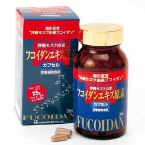 Tảo fucoidan Kanehide Bio 150 viên hàng Nhật nội địa uy tín giá tốt HCM