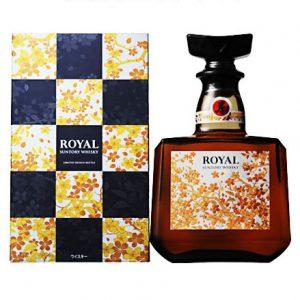 Suntory Royal Whisky Limited Design Bottle hàng Nhật nội địa xách tay