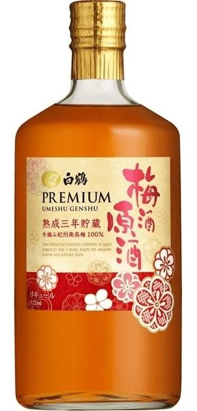 Rượu mơ Premium Umeshu Genshu 3 năm tuổi ngon đậm đà
