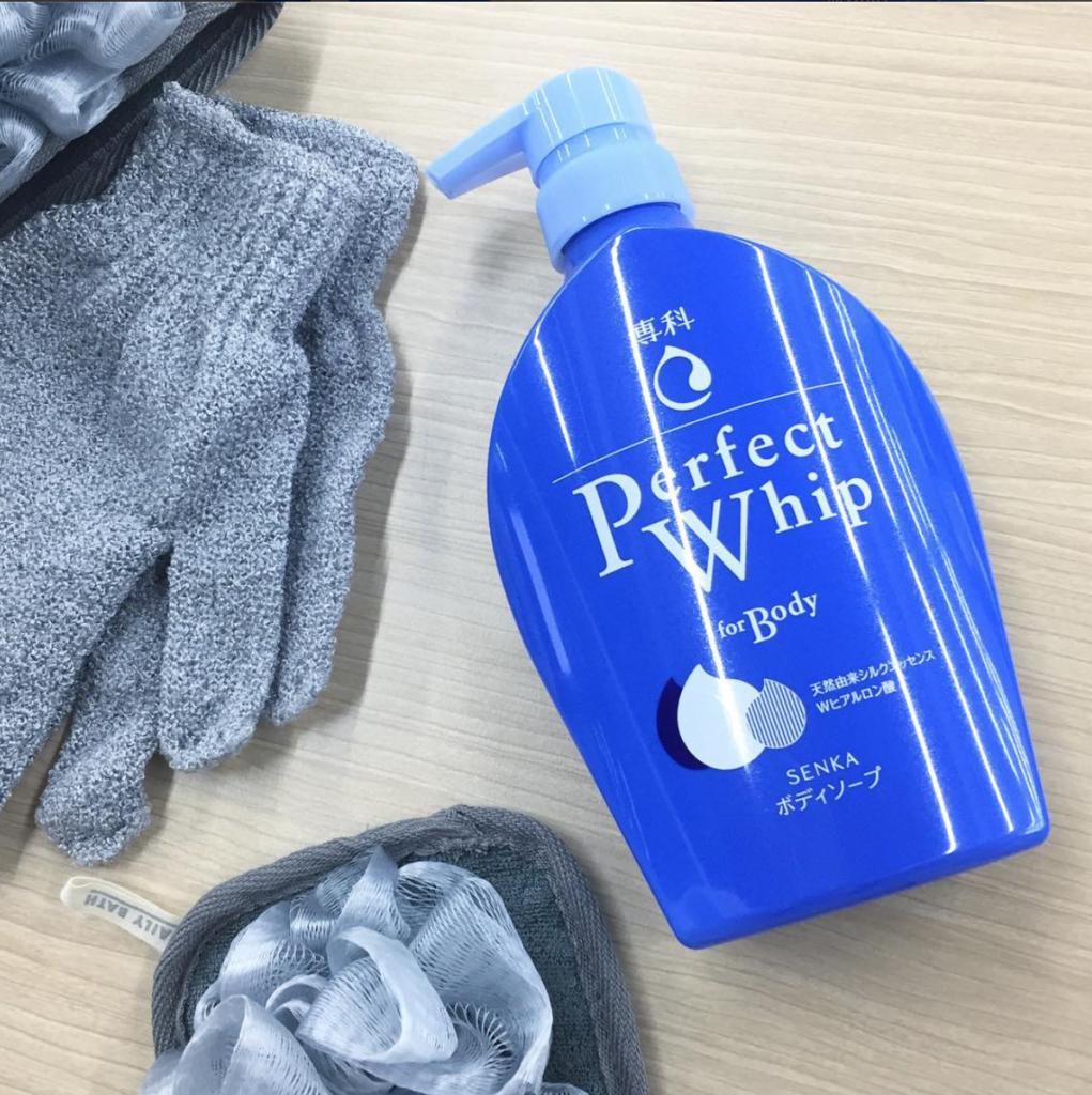 Set sữa tắm Perfect Whip for body hàng Nhật nội địa có sẵn HCM