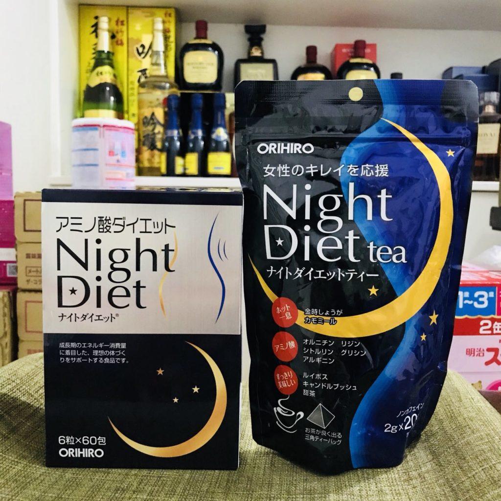 Viên uống giảm cân Night Diet Orihiro hàng Nhật nội địa giá tốt