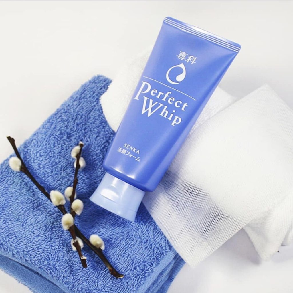 Sữa rửa mặt có trong set sữa tắm Perfect Whip for body hàng Nhật nội địa có sẵn HCM