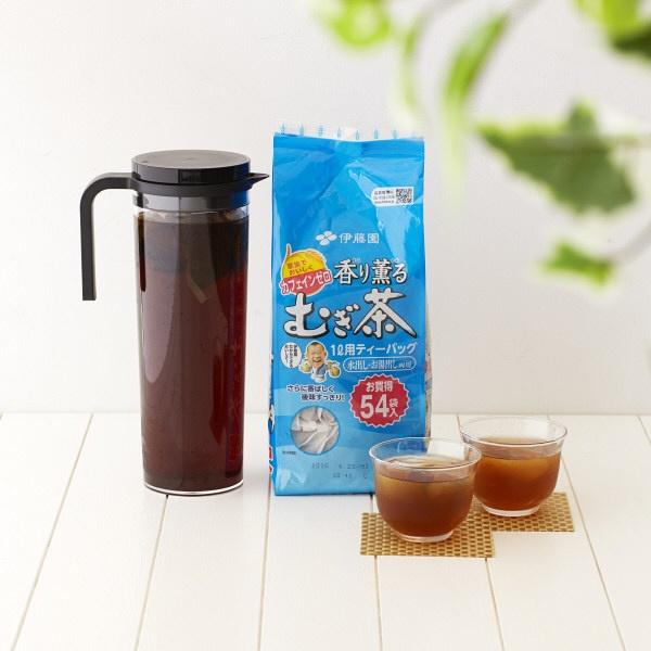 Trà lúa mạch Mugi dạng túi lọc 54 gói thơm ngon bổ dưỡng