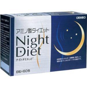 Viên uống giảm cân Night Diet Orihiro hàng Nhật nội địa có sẵn HCM
