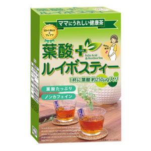 Trà Folic Acid & Rooibos Tea hàng Nhật nội địa