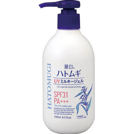 Sữa dưỡng thể Hatomugi UV Milky Gel