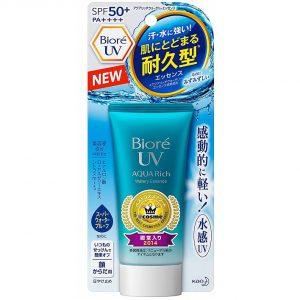 Kem chống nắng Biore UV Aqua Rich Watery Essence hàng Nhật nội địa xách tay uy tín