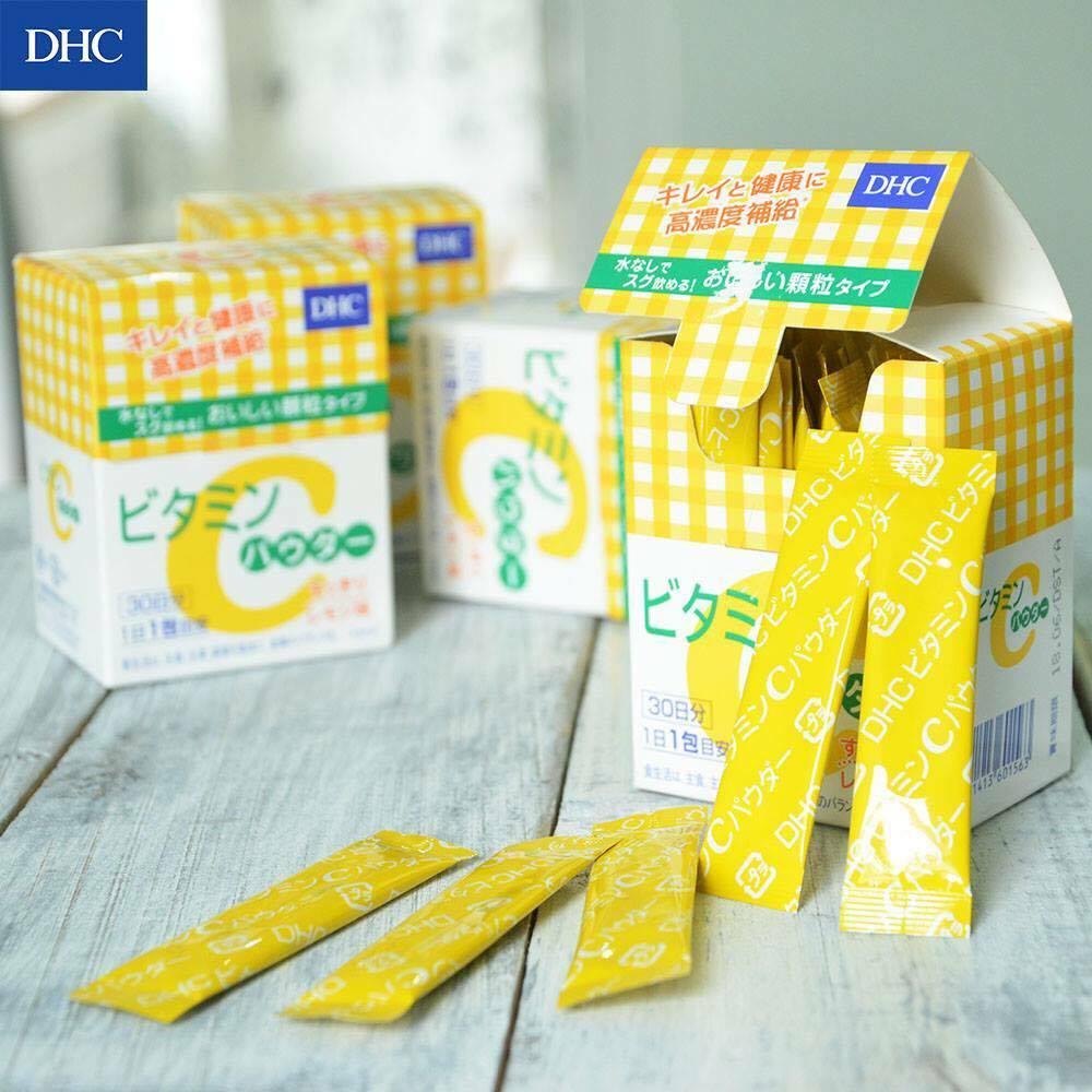 Bột Vitamin C DHC 30 gói hàng Nhật nội địa HCM