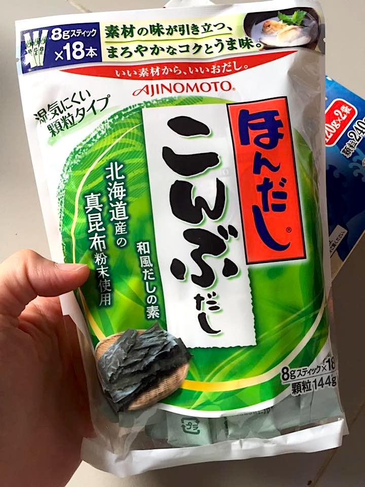Hạt nêm rong biển Ajinomoto giàu dinh dưỡng cho bé