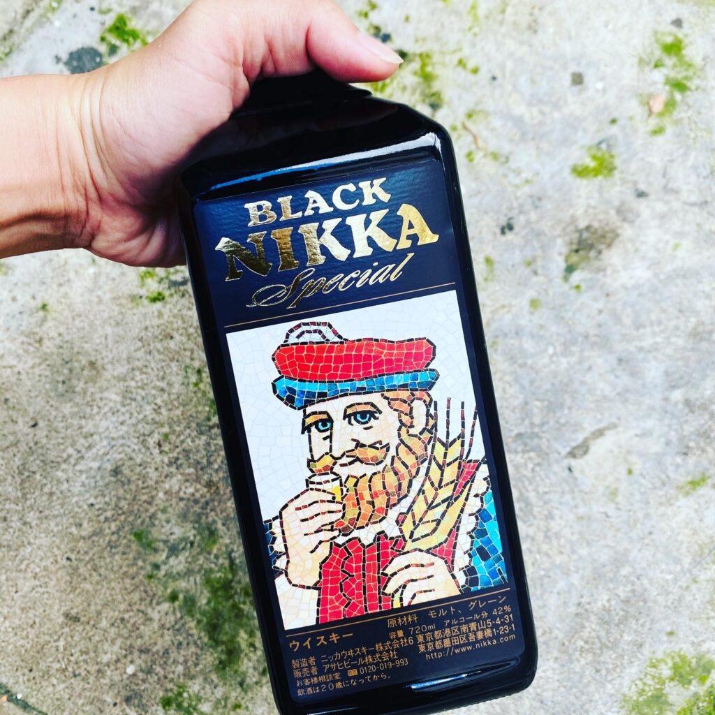Rượu Black Nikka Special rượu whisky Nhật nội địa